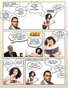 CrossExamined - Problem Comic